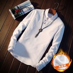 Alvicio - Fleece Lined Long-Sleeve Henley