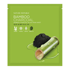 Nature Republic - Bamboo Charcoal Black Mask Sheet (1pc)