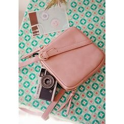 GOROKE - Zipped Square Shoulder Bag