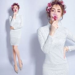 Angel Bridal - Lace Cheongsam