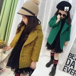 Princess House - Kids Chevron Knit Coat