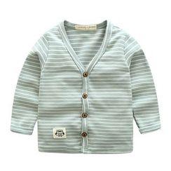 lalalove - 童裝條紋夾克