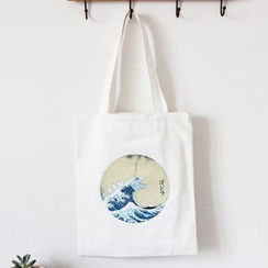 TangTangBags - Canvas Printed Shopper Bag