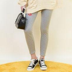 Moriville - Embroidered Leggings