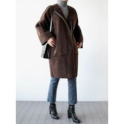 STYLEBYYAM - Reversible Faux-Shearling Coat
