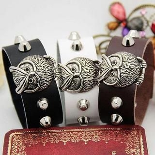 MURATI - Owl Studded Bangle