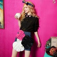 ELF SACK - Applique Miniskirt