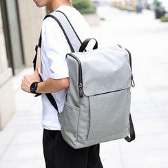BagBuzz - Flap Canvas Backpack