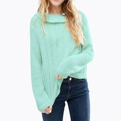 Obel - Ruffle Trim Sweater