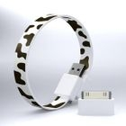 Mohzy - Mohzy Loop USB to Micro-USB Cable (Cow) (With Adapter)