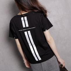 Sonne - 3M荧光条短袖T恤