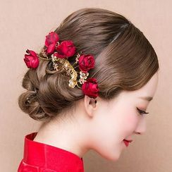 Suaylla - Bridal Flower Hair Comb
