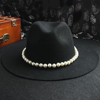 EVEN - Faux Pearl Jazz Hat