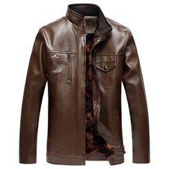 Blueforce - Faux Leather Jacket