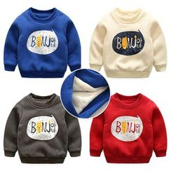 WellKids - Kids Fleece-Lined Printed Pullover