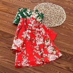 Rakkaus - Kids Long-Sleeve Floral Dress