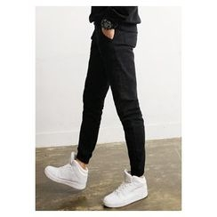 HOTBOOM - Band-Waist Jogger Pants