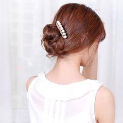 Missy Missy - Faux Pearl Rhinestone Hair Pin