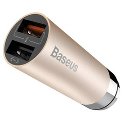 Naranja - Dual Port USB Car Charger