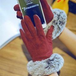 羅煞秀 - 拼接觸屏手套