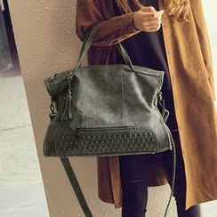 enoi - Studded Shoulder Bag