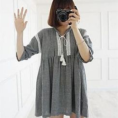 Champi - 吊苏宽松裙衣