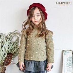 LILIPURRI - Frill-Shoulder Floral Print Top