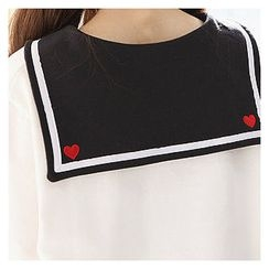 Sechuna - Sailor-Collar Top
