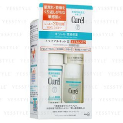Kao - Curel Intensive Moisture Care Trial Kit III Enrich: Cleansing Gel 30g + Wash 90ml + Lotion 30ml + Cream 10g