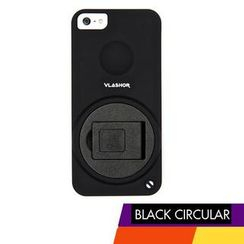 Vlashor - Black Circular iPhone5 Case
