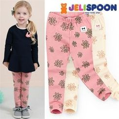 JELISPOON - Girls Floral Leggings