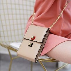 Rinka Doll - Studded Crossbody Bag