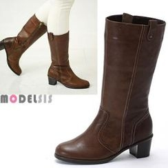 MODELSIS - Genuine Leather Boots