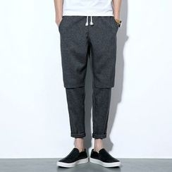 Better Man - Drawstring Harem Pants