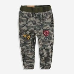 Happy Go Lucky - Kids Camo Pants