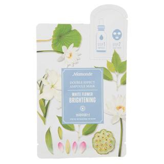 Mamonde - Double Effect Ampoule Mask (Brightening)