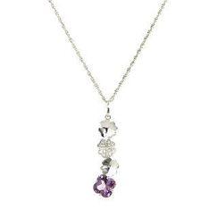Bellini - 四叶草紫晶-吊咀