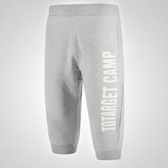 MaxBlue - Capri Lettering Sweatpants