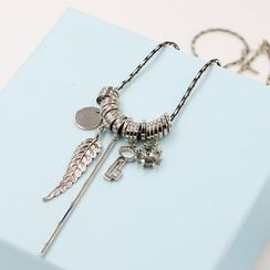 Love Generation - Feather Long Necklace