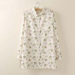 Tangi - Floral Long Shirt