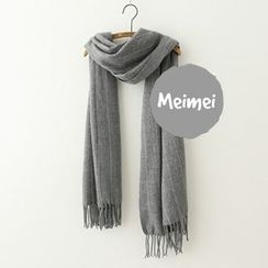 Meimei - Striped Winter Scarf
