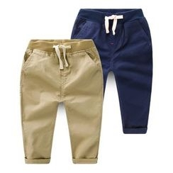 lalalove - Kids Drawstring Pants
