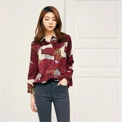 MAGJAY - Fly-Front Patterned Shirt
