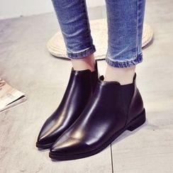 Chryse - 松紧边及踝靴