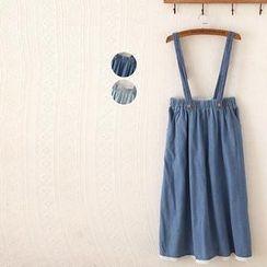 P.E.I. Girl - Denim Jumper Skirt
