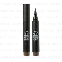 3 CONCEPT EYES - Longwear Tattoo Eyebrow Marker (Ash Brown)