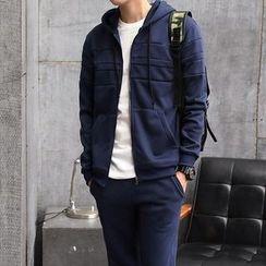 Danjieshi - Set: Zip Hoodie + Sweatpants