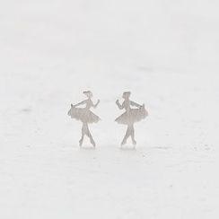 Love Generation - 芭蕾舞女孩耳釘