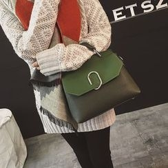 Rosanna Bags - Color Panel / Plain Shoulder Bag