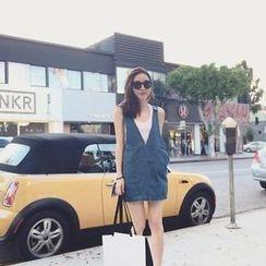 MILLAS - Denim Jumper Skirt